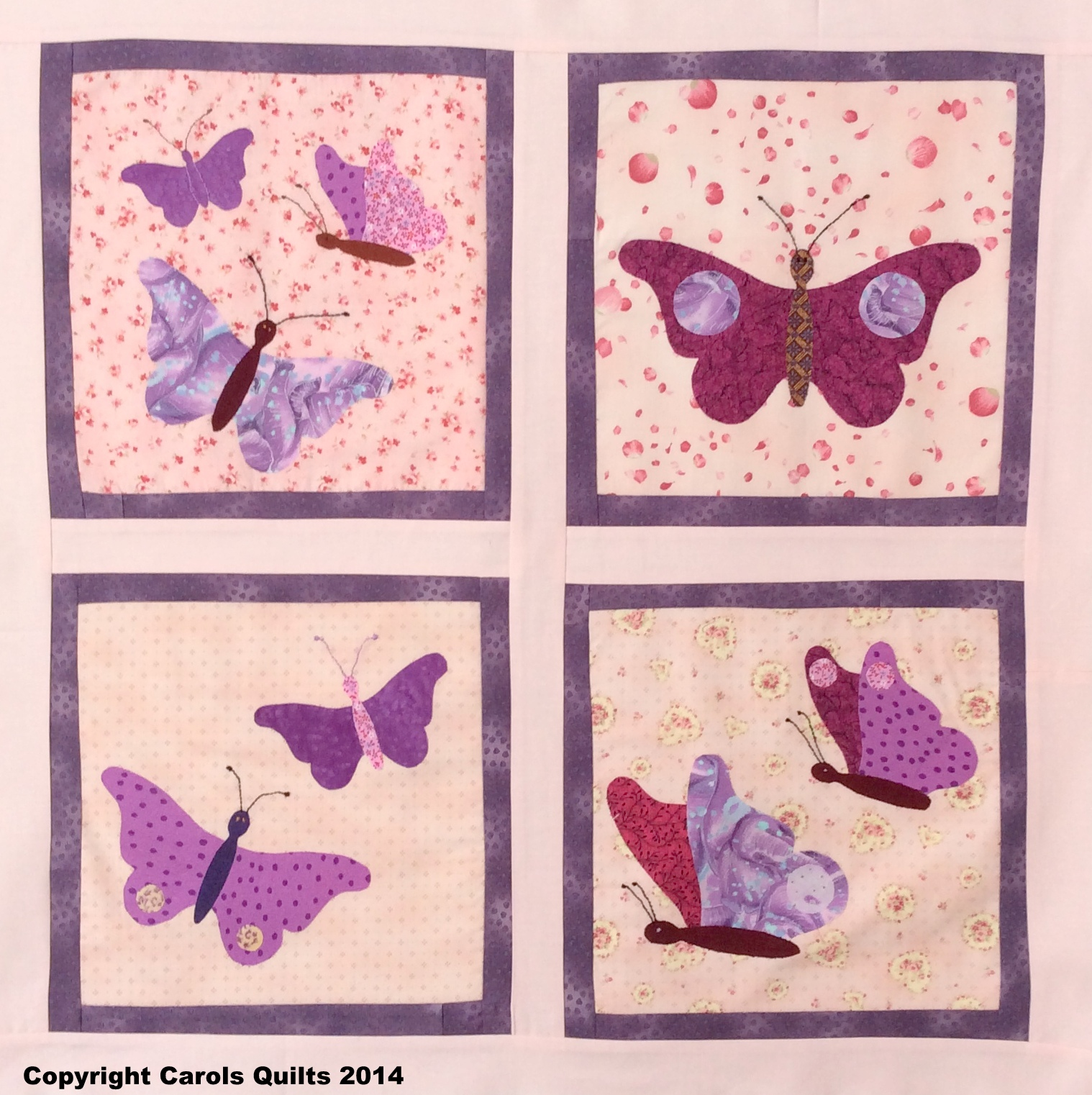 Butterfly Template - Carol S Quilts