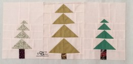 Carols Quilts Patchwork Trees