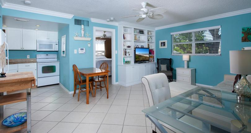 House Beautiful: Tear Drop Blue is Florida's best paint color