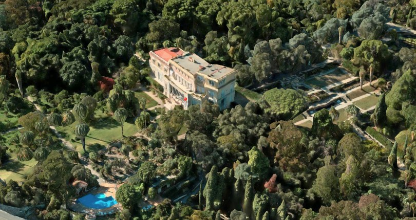 $410 million Grand Marnier famous mediterranean Villa Les Cèdres is on sale