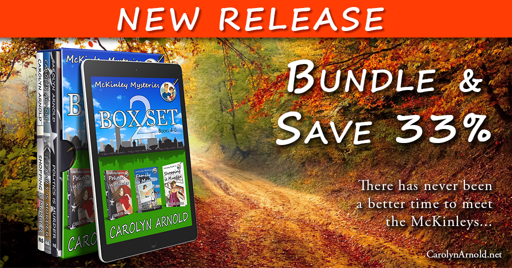 Announcement: Cozy #Mystery Box Set Release Day #NewRelease