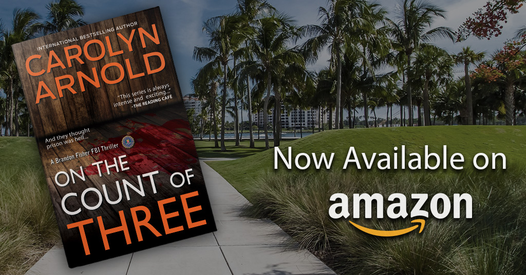 On the Count of Three hits Amazon!