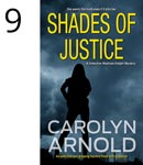 Shades of Justice by Carolyn Arnold, House obscured by snow storm