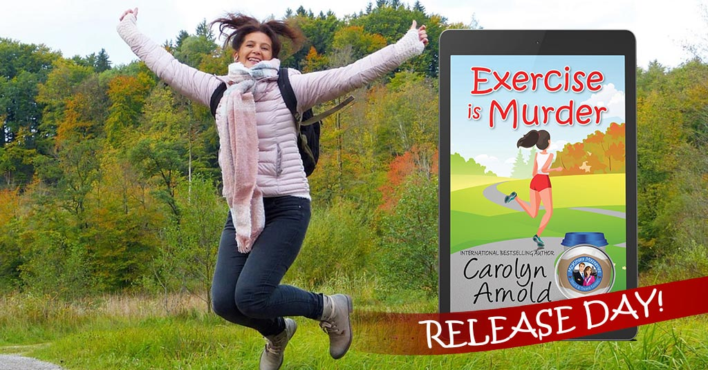 New Release Alert: Exercise is Murder is here ! #cozymystery