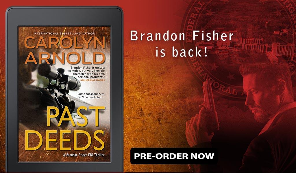 Brandon Fisher is Back in a NEW FBI Thriller!