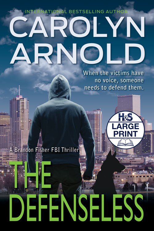 The Defenseless Large Print Edition by Carolyn Arnold