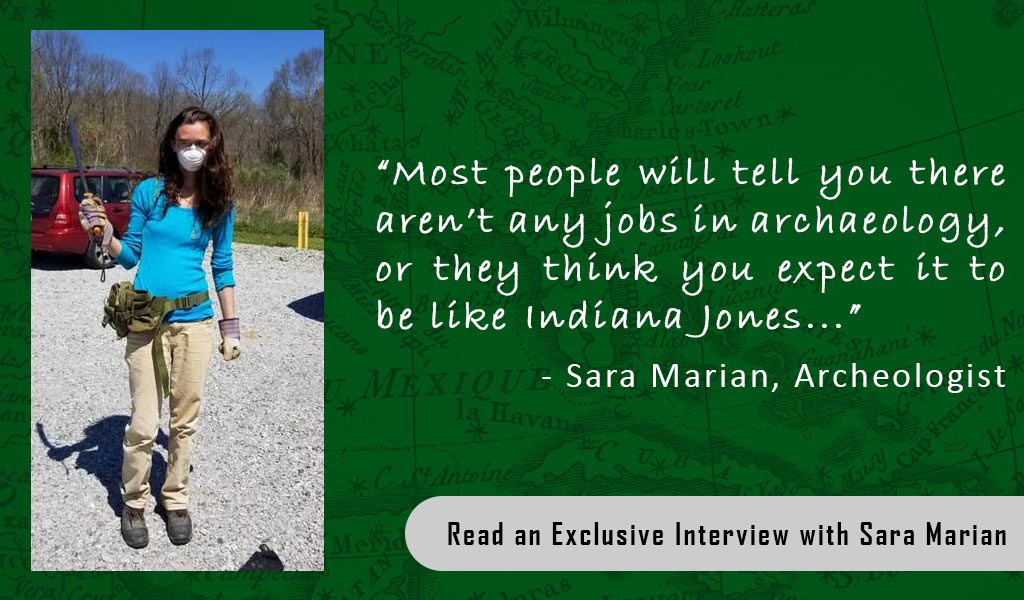Exclusive Interview with Real-Life Archaeologist @SaraMarianBooks