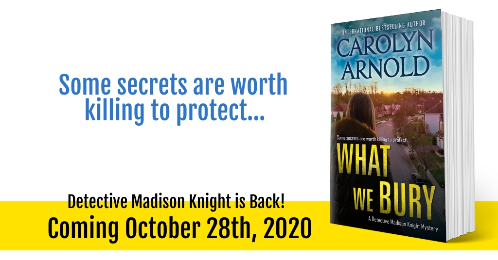 Detective Madison Knight Returns October 28th! #CoverReveal