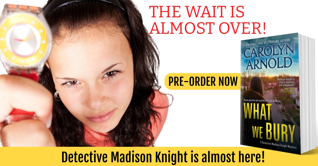 Detective Madison Knight is Almost Here!