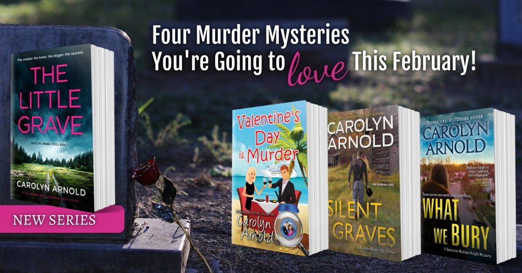 Four Murder Mysteries You're Going to Love This February