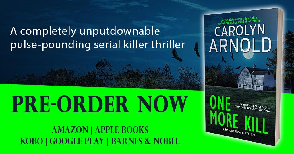 Brandon Fisher Returns in ONE MORE KILL #CrimeThriller
