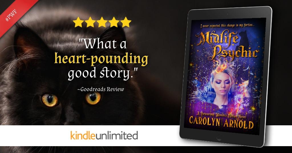 Readers love Midlife Psychic, a #ParanormalWomensFiction Novel
