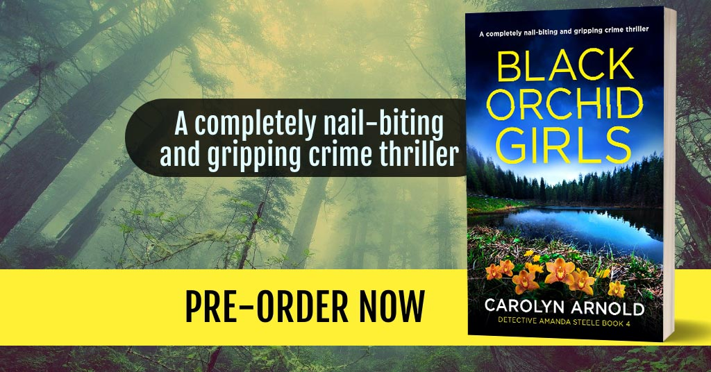 Pre-order Now: BLACK ORCHID GIRLS > The Next Detective Amanda Steele!