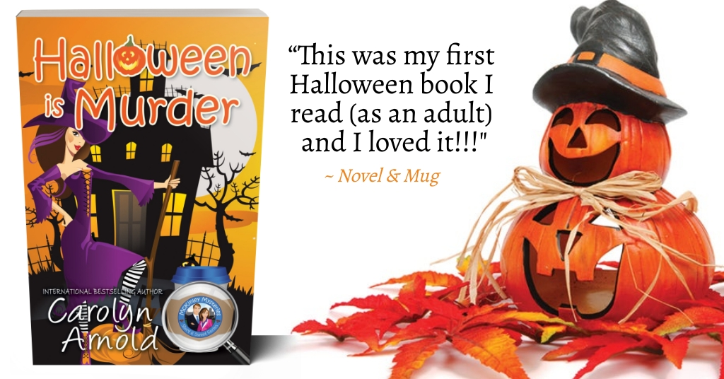 Don't Miss HALLOWEEN IS MURDER This Season #CozyMystery