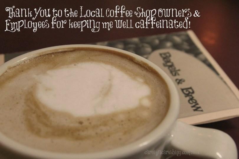 CarolynCares ThankYou Coffeeshop