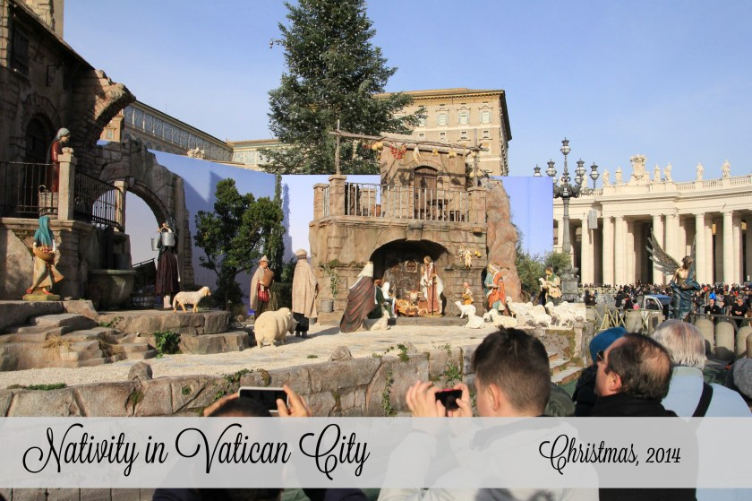 Nativity in Vatican City Italy