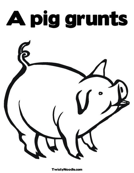 National Pig Day (March 1) Children's Stories, Poems, Etc