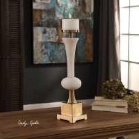 Carron Alabaster Candle Holder - Carolyn Kinder International