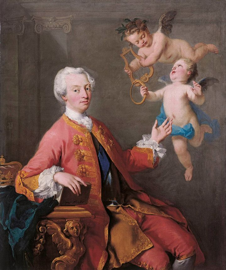 Frederick, Prince of Wales by Jacopo Amigoni (1735).
