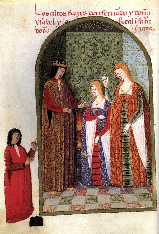Isabella & Ferdinand with daughter Joanna