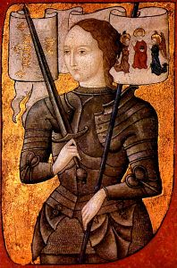 Joan of Arc painted c 1485