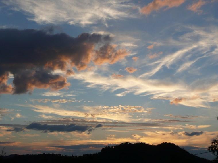 Evening skies Norway 2007