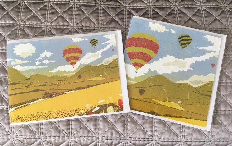 Image of 2 'Serenity' greetings cards