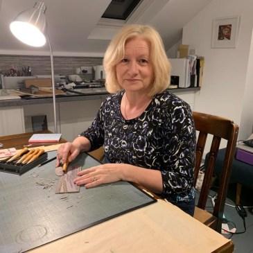 Image of artist printmaker Carolyn Murphy