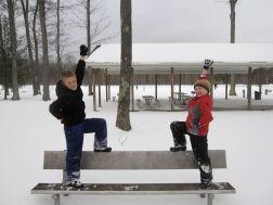 Zach and Josiah