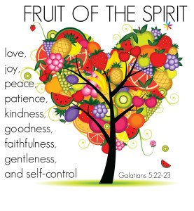 Look for the Fruit!  It's all around you!