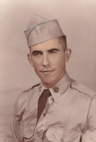Dad in the army.
