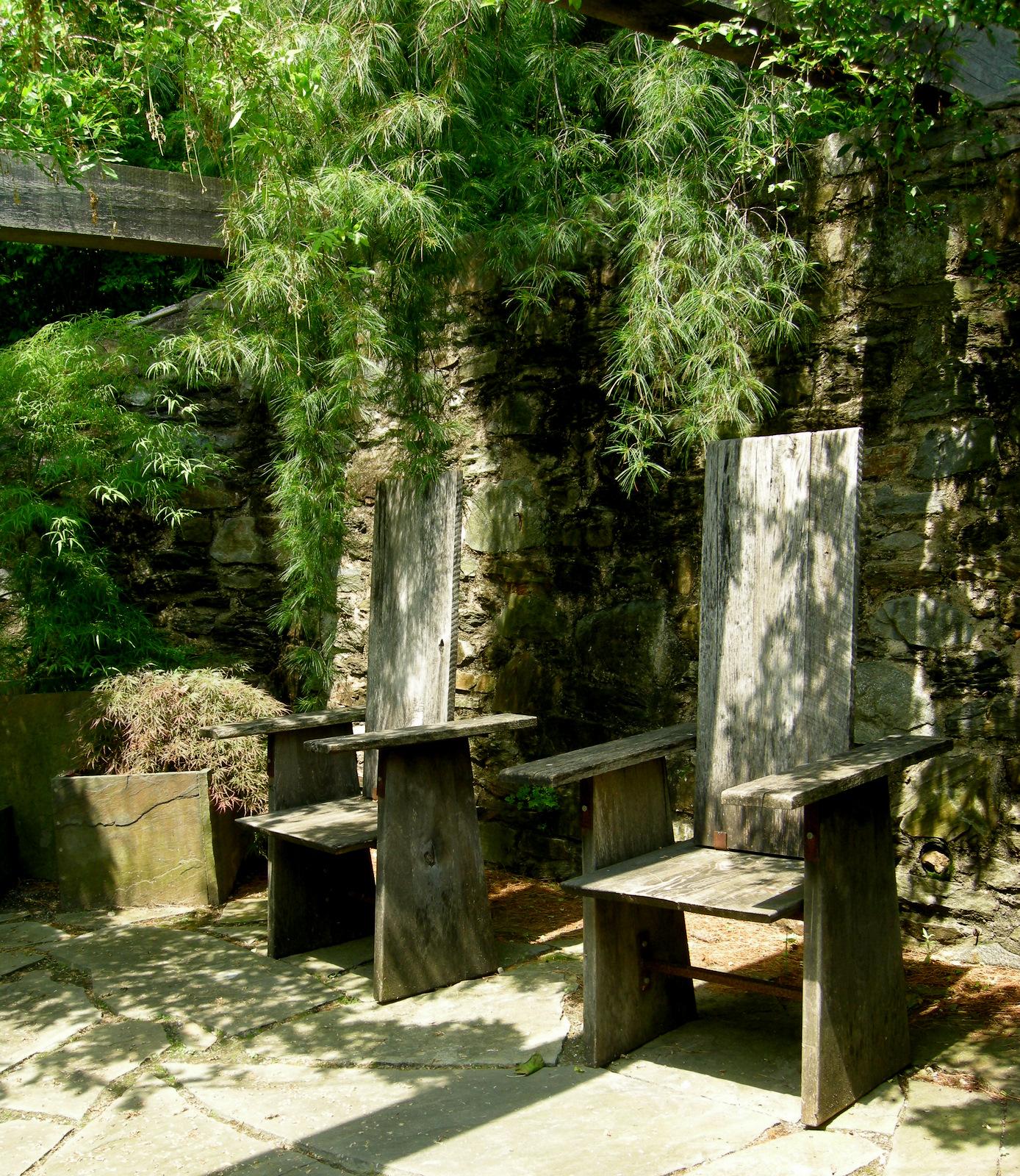 Chanticleer Part 2 Garden Seating  CAROLYNS SHADE GARDENS