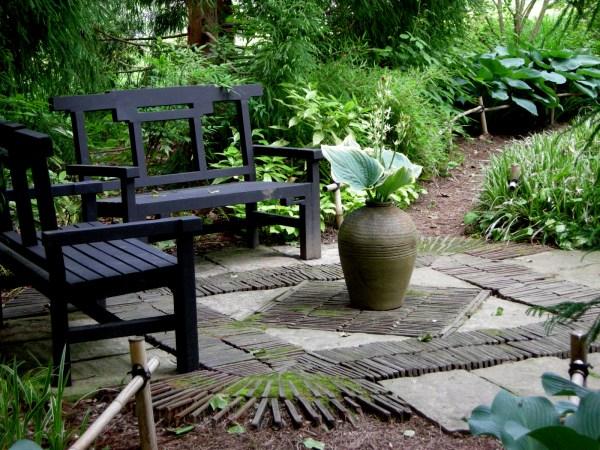 chanticleer part 2 garden seating