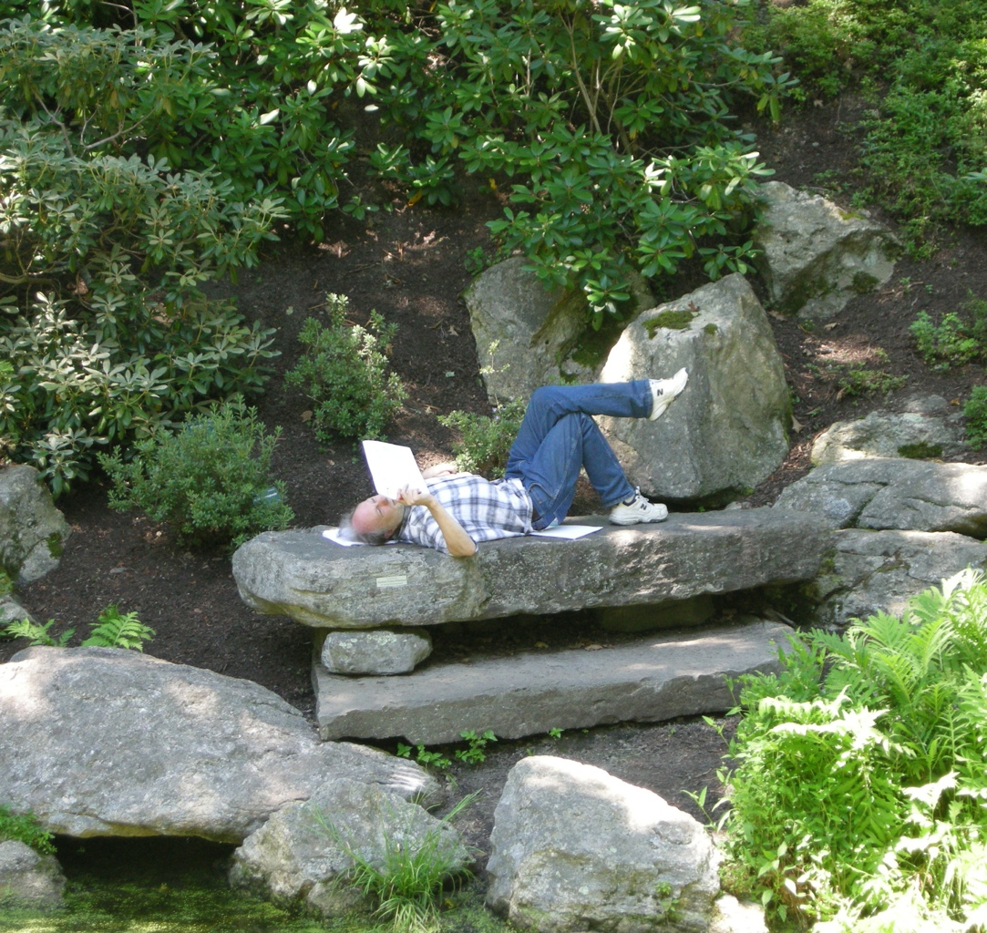 Rock Garden Seating CAROLYN'S SHADE GARDENS