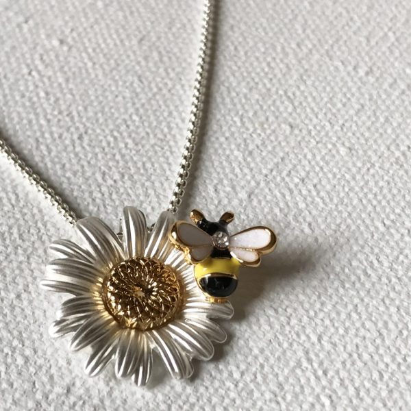 Bee Necklace - Carol Young Silver