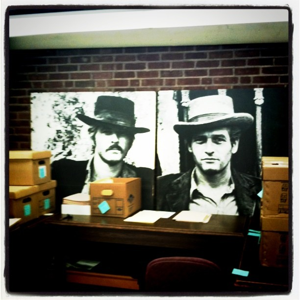 Two large photographs of Butch Cassidy and the Sundance Kid, Manuscripts and Archives, Yale University