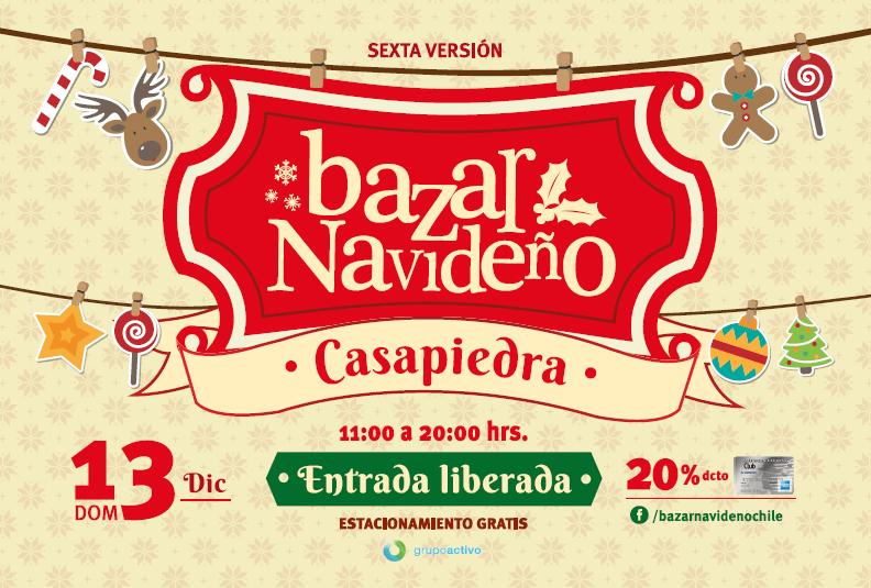Bazar Navideño Casapiedra