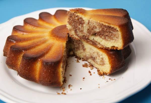 recette Gâteau au yaourt marbré