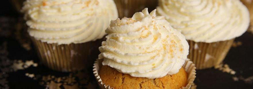 Cupcake au pain d'épices et miel