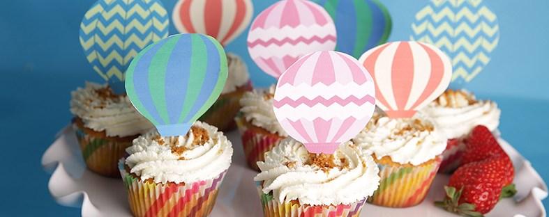 Cupcakes fraise-spéculoos