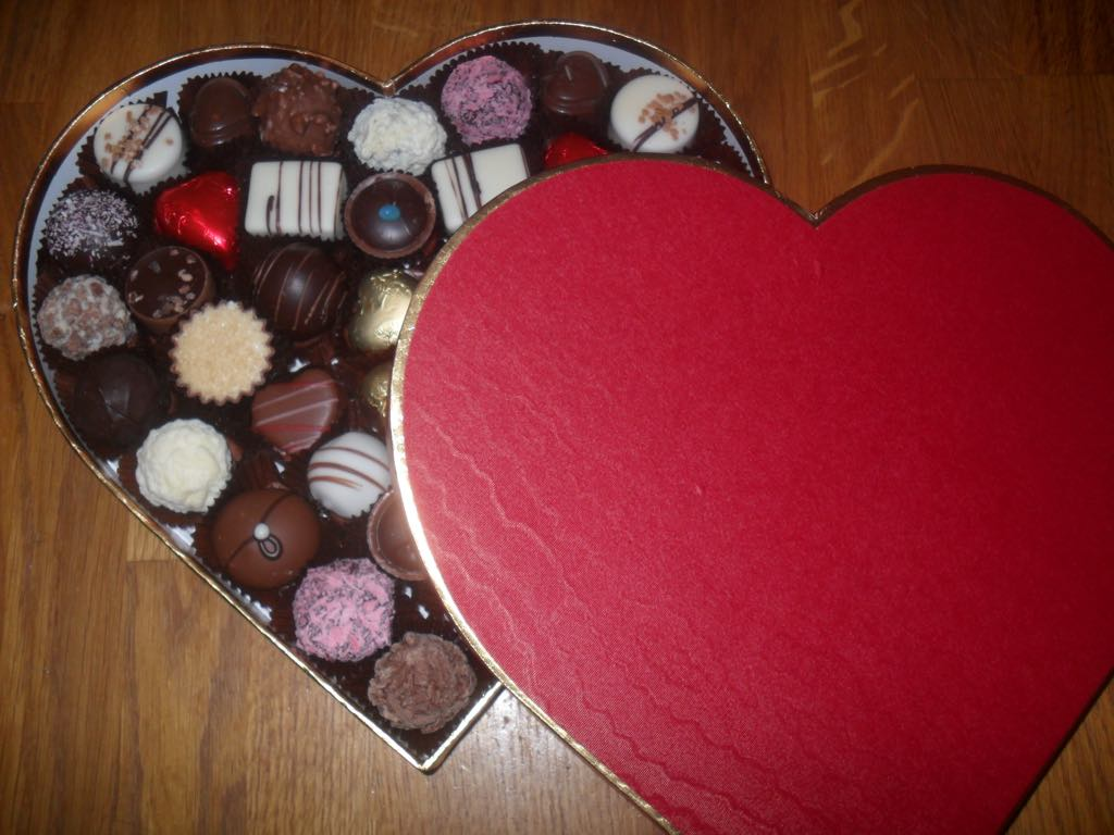 Valentine S 36 Chocolate Heart Box In Store Collection