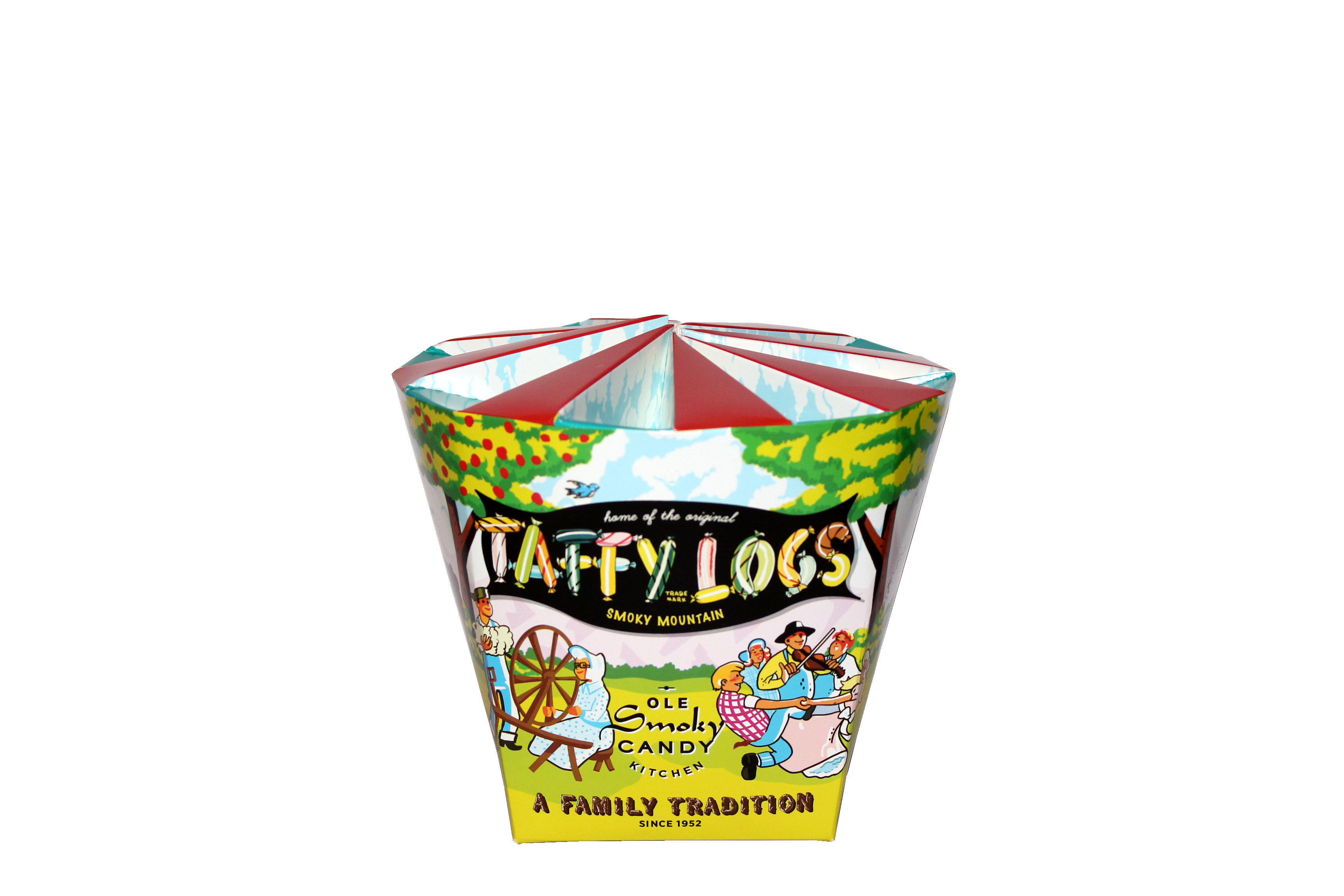 Taffy Logs – Custom Container | Carousel Container