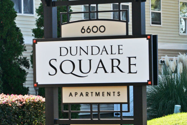 Apartment Signage  Carousel Signs  Designs