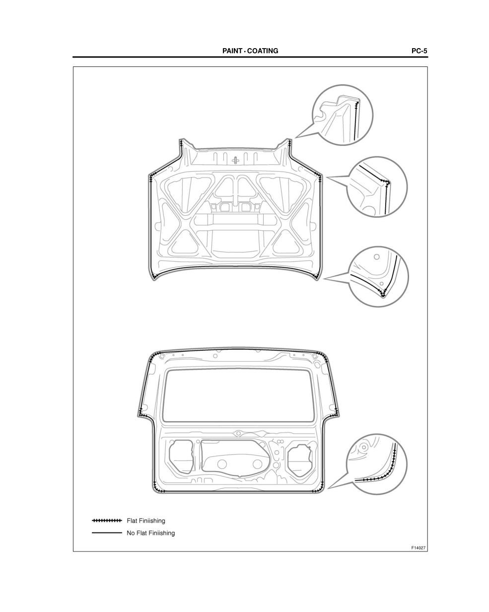 2003-2008 TOYOTA 4Runner Repair Manual, Body Panel Sealing