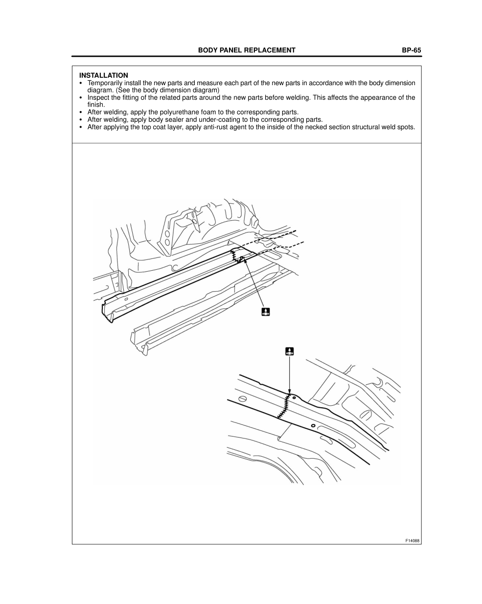 2003-2008 TOYOTA 4Runner Repair Manual, Rear Floor Side