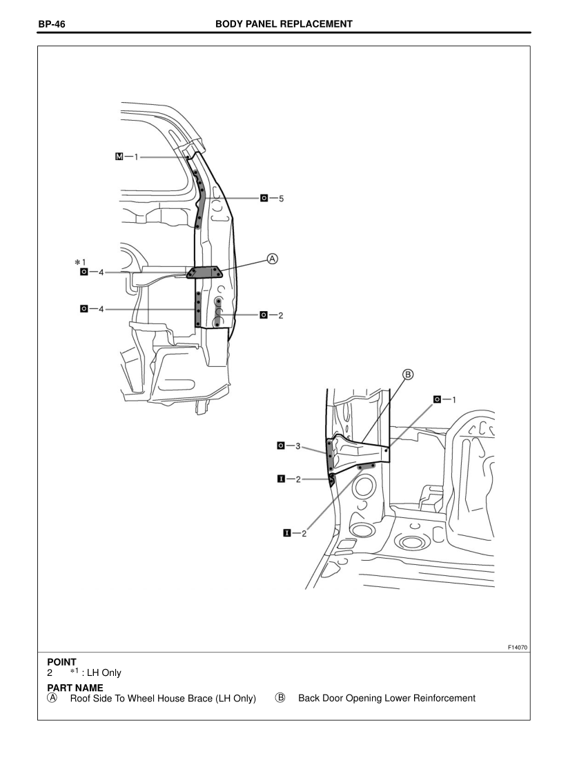 2003-2008 TOYOTA 4Runner Repair Manual, Roof Side Inner