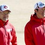 石井打撃コーチ、河田外野守備走塁コーチが今季限りで退団を発表
