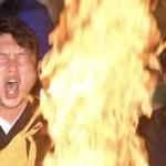 新井、高野山で護摩行「今年もきつかった」/石原、會澤、堂林も参加