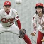 女優・吉岡里帆、『カープ女子』姿に大反響!「始球式をしてほしい」