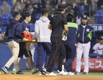 カープ・今村の危険球退場に対して、『つば九郎』が一部ファンに苦言